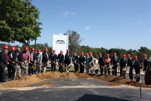 Russell County Judicial Groundbreaking