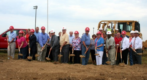 adair county elementary school ground breaking