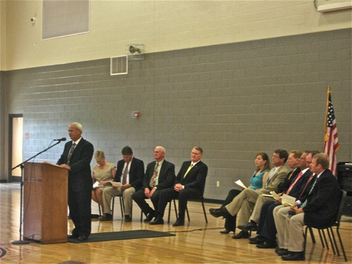 garrard county high school dedication