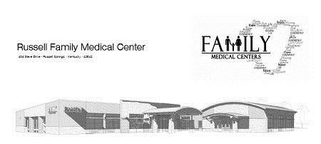 russell family medical center architects rendering